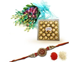 Rakhi-Orchids N Chocolates