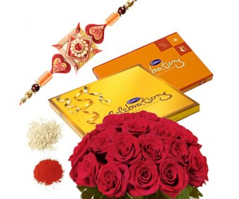 Roses N Chocolate Hamper