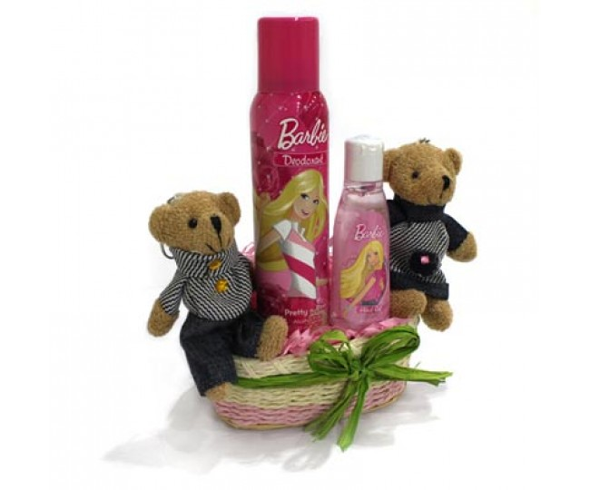 Barbie Combo and Teddy