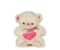 A Very Cute Little Soft Teddy Bear With Heart