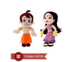 Chhota Bheem & Chutki Plush Toy Combo