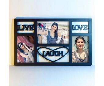 Live-Love-Laugh Photoframe