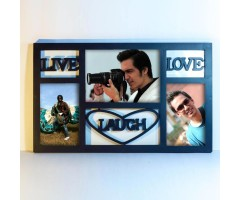 Live-Love-Laugh Photoframe