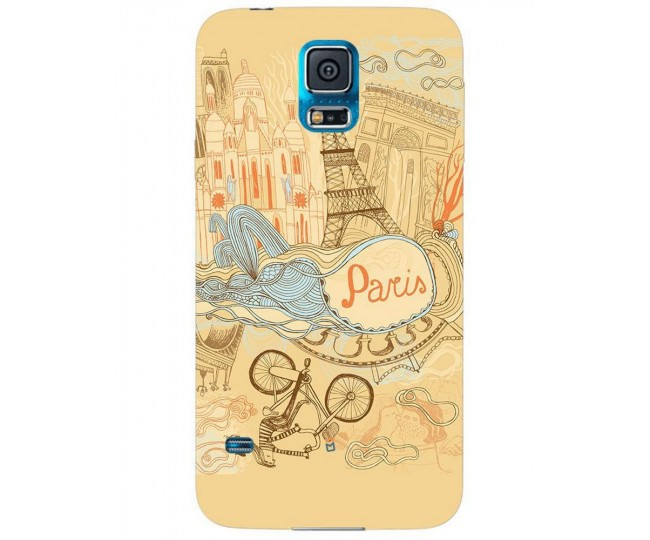 SAMSUNG GALAXY S-5-PS004 back cover