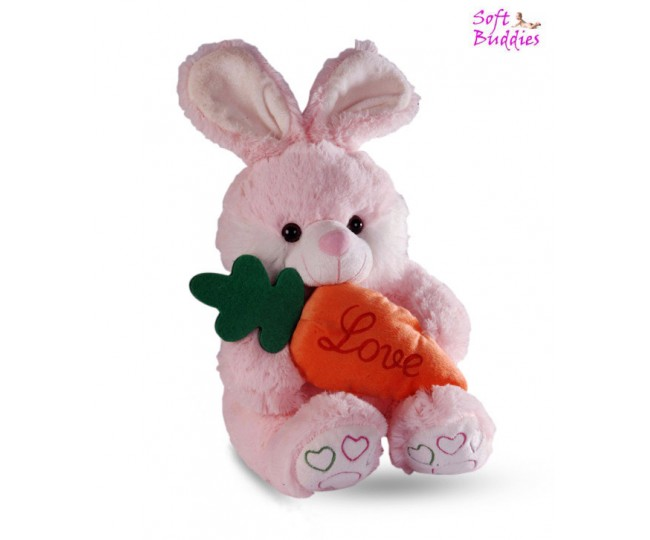 Soft Buddies Bunny With Carrot - 38 cm