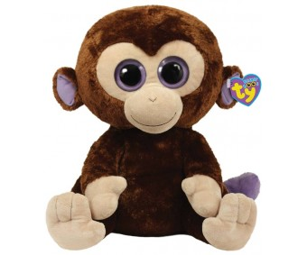 TY Toy Coconut Monkey - 5.5 Inches