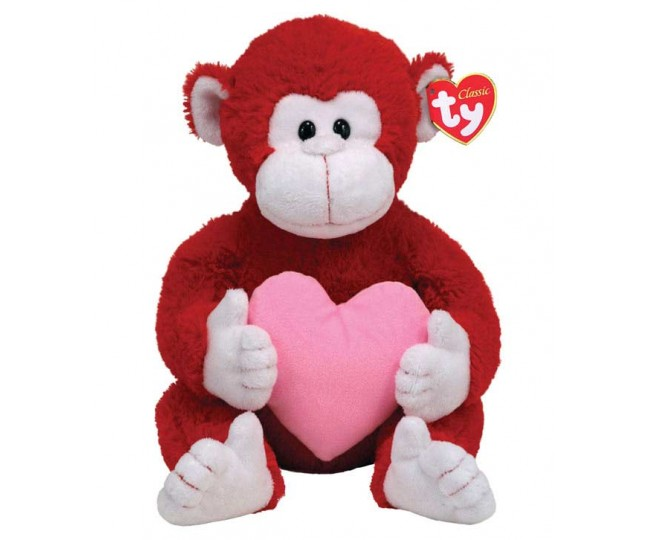 TY Toy Dynamite Monkey - 13 Inches