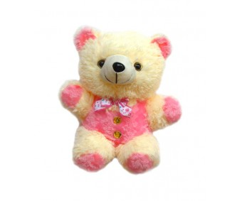 Tickles Pink Teddy Soft Toy - 34 cm