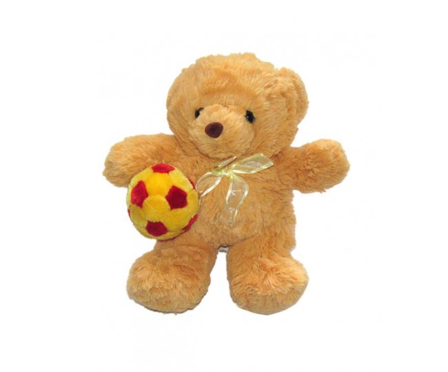 Tickles Teddy With Ball Soft Toy - 25 cm