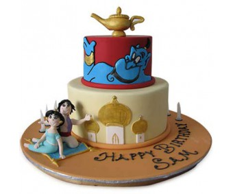 2 tier Adorable Aladdin Jasmin