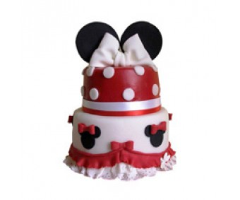 3 tier Lovely Minnie Cake 4kg