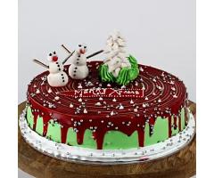 https://www.emotiongift.com/christmas-snowman-chocolate-cake