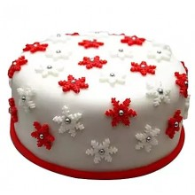 designer Christmas cake 4 in margherita