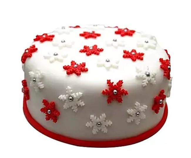designer Christmas cake 4