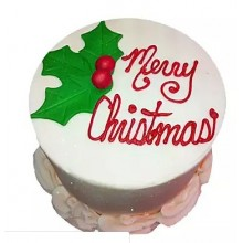 christmas cake design in shujalpur