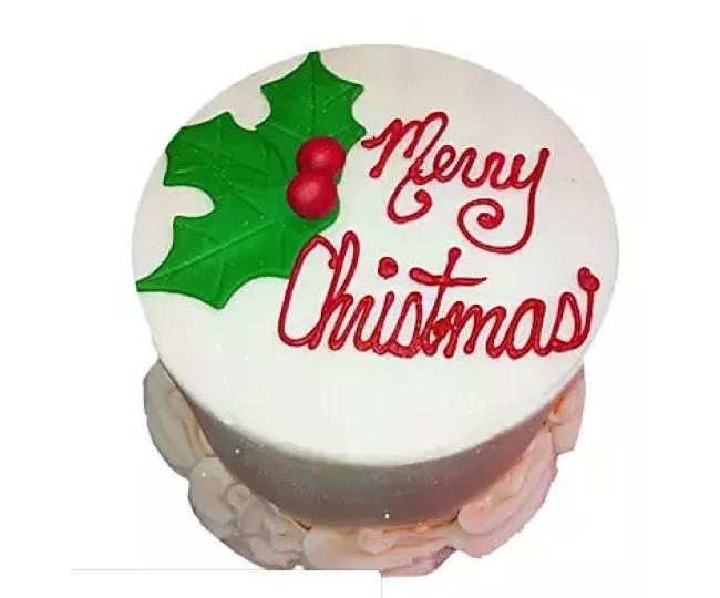 designer Christmas cake 7