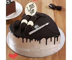 https://www.emotiongift.com/Heart-Shaped-Cream-Chocolate-Cake