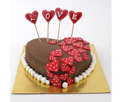 https://www.emotiongift.com/valentine-red-hearts-chocolate-cake