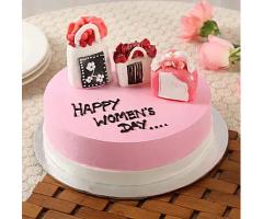 https://www.emotiongift.com/womens-day-designer-chocolate-cake