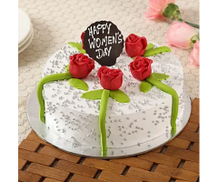 https://www.emotiongift.com/womens-day-floral-chocolate-cake