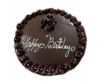 Dark chocolate half kg cake