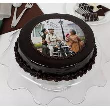 Chocolate Photo Cake Fathersday