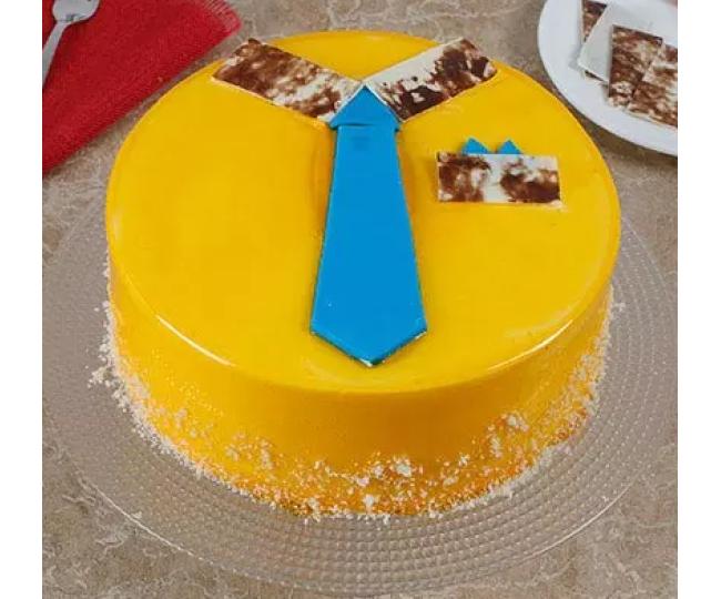 Fancy Mango Cake for dad