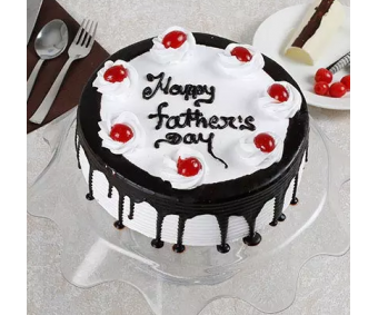 Happy Fathers day Black forest cake