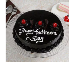 Happy Fathers day Truffle cake