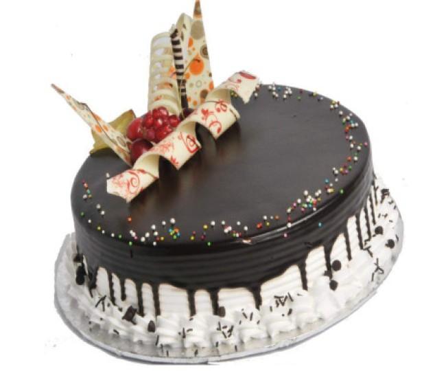 Chocovanilla Cake