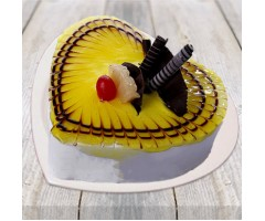 Pineapple Photo Cake