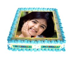 Rectangle Photo Cake 1 kg
