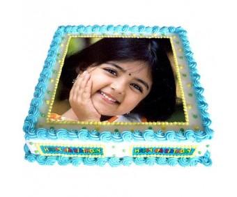 Rectangle Photo Cake 1 kg