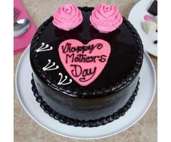 Chocolate Round cake Mothers day