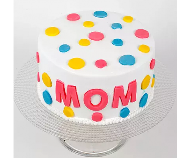 Colorful Cake Mothers day