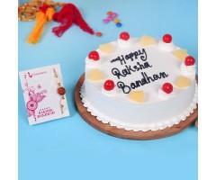 Cake for rakhi