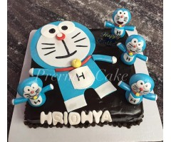 Doremon cake for kids in hyderabad