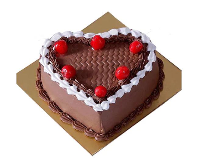 Cherry On Top Chocolate Cream Cake