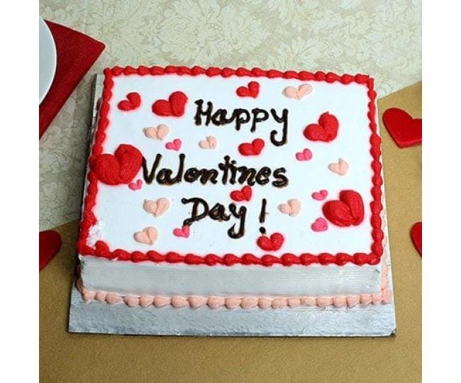 Happy Valentines Day Cake Chocolate 2 kg
