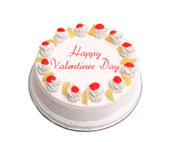 Valentine Special Pineapple Cake