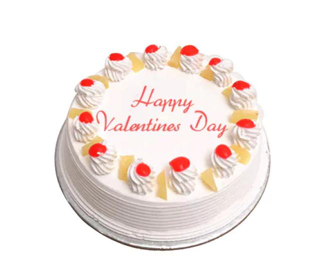 Valentine Special Pineapple Cake
