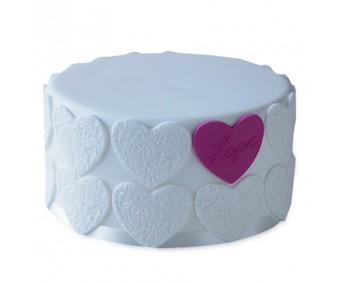 Elegant Love Cake 2kg - Agra