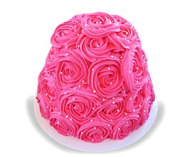 Dazzling Rose Cake 3kg