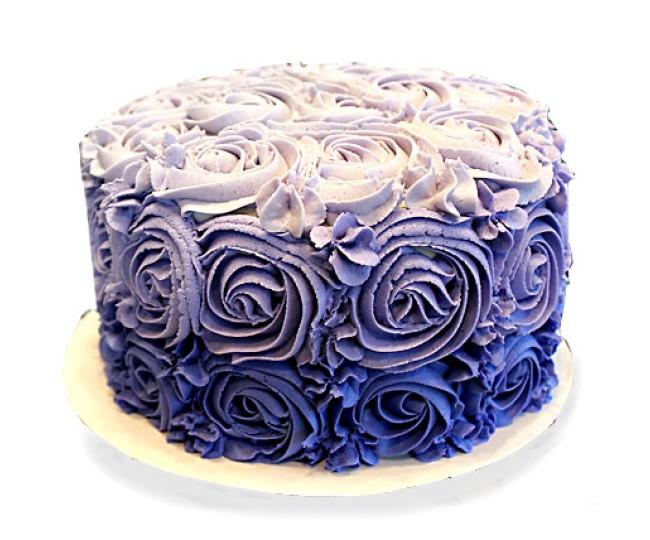 Blue Rose Cake 2kg