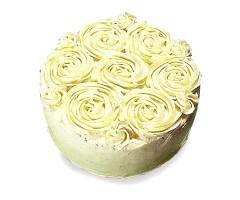 Cream Rose Cake 1kg