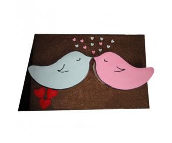 Valentine Love Bird Cake 2.5kg -