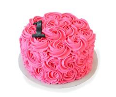 Pink Rose Cake 1kg