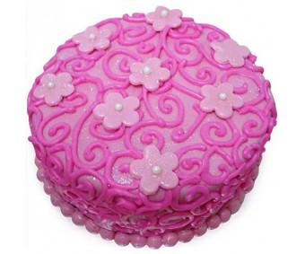 Designer Rose Cake 2kg - Agra
