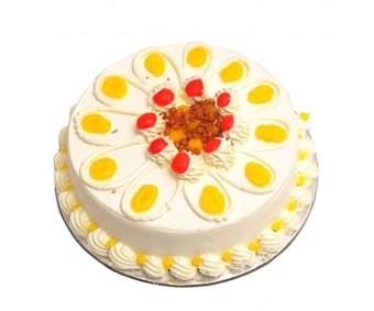 Eggless Butterscotch Cake Half kg - Agra