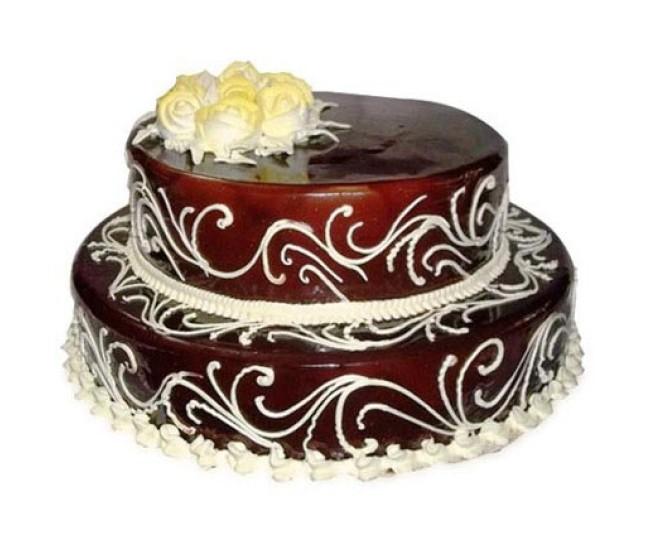 2 tier Chocolate cake 2 kg
